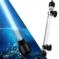 5/7/9/11W Aquarium Fish Tank UV Sterilizer Light Submersible Water Clean Lamp AC 220V