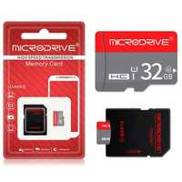 MicroDrive 16GB 32GB 64GB Class 10 High Speed TF Memory Card with Card Adapter for Mobile Phone