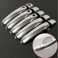 Car Door Handle Cover Handle Shell Silver Bright for SUZUKI 2006- 2015