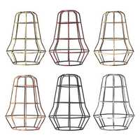 Vintage Pendant Trouble Light Tower Shape Hanging DIY Lampshade