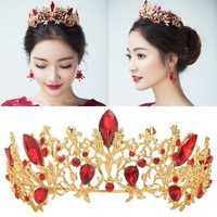 Wedding Bridal Crown Rhinestone Headband Tiara Hair Jewelry