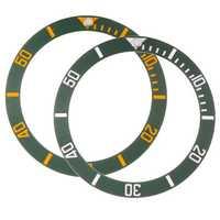 38mm Watch Cover Ceramic Bezel Insert for 40mm Submariner