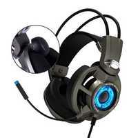 SOMiC G954 USB Wired Virtual 7.1 Surround Sound SVE Vibration Gaming Headphone Headset