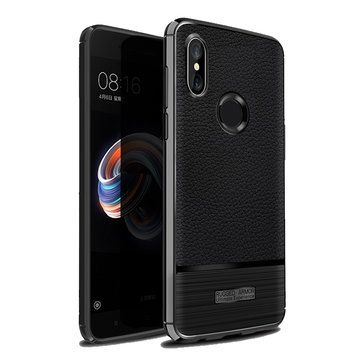 Bakeey Soft TPU Leather Shockproof Anti Fingerprint Protective Case For Xiaomi Mi A2/ Xiaomi Mi 6X