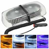 15W 240LED Magnetic Strobe Emergency Warning Light Bar