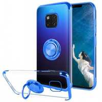 Bakeey Magnetic Car Holder Ring Holder Thin Color Plating Soft TPU Protective Case For Huawei Mate 20 Pro