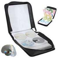 288 Disc CD DVD Box Storage Case Carry Bag Binder Book Sleeves Rack Holder