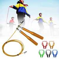 2.8m Skipping Fitness Exercise Rope Jumping Steel Cable Speed Rope