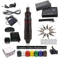 D3017 Complete Tattoo Kit Motor Pen Machine Tattoo Machine
