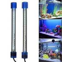 Aquarium Waterproof LED Light Bar Fish Tank Submersible Down Light Tropical Aquarium Products 3W 30CM