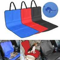 10 x 49 cm Waterproof Dog Car Seat Belt Cover Pet Cat Car Carrier Mat Blue Seat Cushion Protector