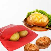Honana CF-PB01 Microwave Oven Quick Fast Washable Potato Bag In 4 Minutes Potato Cooking Pouch