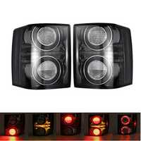 Car LED Tail Light Smoke Shell Left/Right with Bulb for Land Rover Range Rover 2010-2012
