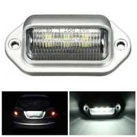 LED License Plate Light Interior Step Courtesy Lamp for Car Truck Trailer