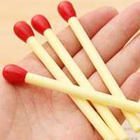 10pcs Match Shape Mini Stick Ballpoint Pen Cute Pen Children School Stationery Supplies