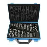 170Pcs 1mm-10mm 4241 HSS Engineering Twist Drill Bits Set