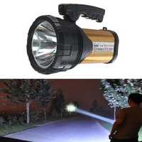 120W Portable Camping Light USB Rechargeable Spotlights Hand Held Outdoor Lantern Searchlight