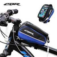 CBR Car Beam Bag Storage Bicycle Bike Frame Bag for Phone 5.5 inch or less