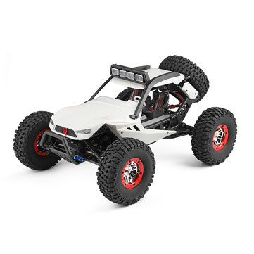 Wltoys 12429 1/12 2.4G 4WD High Speed 40km/h Off Road On Road RC Car Buggy With Head Light