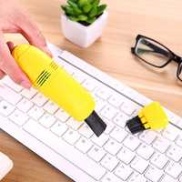 Mini USB Keyboard Vacuum Cleaner Portable Handheld Computer Keyboard Dust Collector Clean Kit for Laptop PC Universal