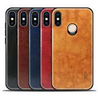 MOFi Anti-wrestling PU Leather + PC +TPU Protective Case for Xiaomi Redmi Note 5