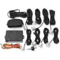 Auto LCD Car Parking 8 Sensors Rear Front View Reverse Backup Radar System Kit