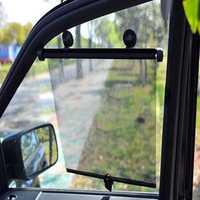 2pcs Car Side Window Sunshade Curtain Roller Blind Screen Protector Visor