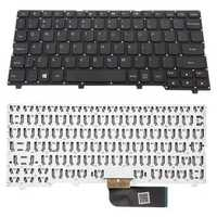 US Black No Frame Laptop Replace Keyboard For Lenovo Ideapad 100S-11IBY Series Laptop