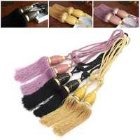 2Pcs Tassel Rope Window Curtain Tie Backs Buckles Tie Backs Holdbacks Pendant