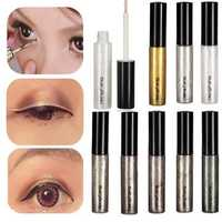 8 Colors Sparkling Glitter Eyeliner Liquid Pen Long Lasting Eye Liner 5ml
