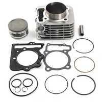 89mm 440cc Cylinder Piston Gasket Kit For Honda TRX400EX
