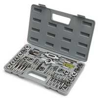 Metric Tap And Die Metric Tapping Threading Chasing Tap and Die Set with Storage Case