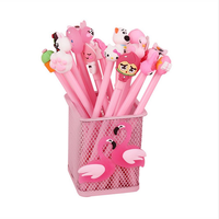 Creative 20 Gel Pen 20 Pen Refill 1 Cartoon Pink Pen Holder Stationery Set school Supplies Gift Set