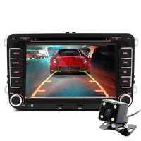 Junsun 7 Inch 2 Din Car DVD GPS Radio Player for VW Golf 5 6 Touran Passat B6 Sharan Jetta Polo