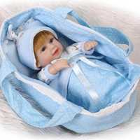11inch 28cm Reborn Baby Doll Soft Silicone Lifelike Toy Gift for Children Christmas Presents Toy
