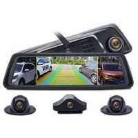 Junsun K910 10 Inch FHD 1080P Octa Core 4G SIM 4 Channel ADAS Android Car DVR GPS WiFi Camera