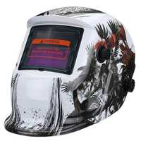 Solar Power Automatic Dimming Welding Helmet Welder Mask Adjustable Head Band