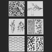 Layering Scrapbooking Painting Stencils Embossing Airbrush Templates Craft Tools