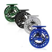 Sougayilang Aluminium Alloy 5/6WT Fly Fishing Reel Coil Die Casting Wheels Spool Freshwater Wheel