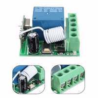 3pcs DC12V 10A 1CH 433MHz Wireless Relay RF Remote Control Switch Receiver Board