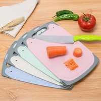 Wheat Straw Kitchen Cutting Board Creative Rectangilar Corrosion-resistant Chopping Block