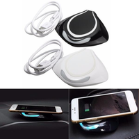 Devil Fish Wireless Car USB Power Charger Fast Charging Pad Mat For iPhone Samsung LG Phone HTC