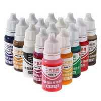 Epoxy Liquid Silicone Resin Pigment Dye Design Jewelry Tools
