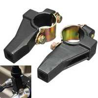 7/8inch 22mm Handlebar 8mm Mirror Mount Bracket Clamp For Motorcycle Scooter E-bike