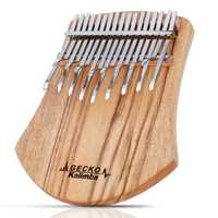 GECKO K17NOTE 17 Keys Kalimba Camphorwood Thumb Piano Finger With Tuning Hammer