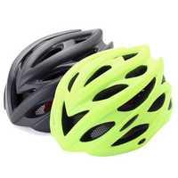 BIKIGHT Ultraligt 24 Air Vents Integrally-molded Bike Safety Helmet with Headlamp