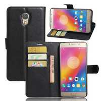 Litchi Flip Wallet Stand PU Leather Case For Lenovo ZUK Vibe P2