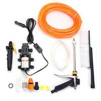 DC 12V High Pressure Car Electric Washer Cleaner Water Wash Pump Sprayer Gun Kit