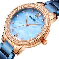MINI FOCUS MF0226L Luxury Brand Women Quartz Watch