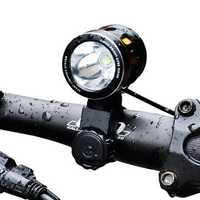 XANES XL07 1000LM T6 Bicycle Front Light IP65 120° Wide Angle with Lampshade HeadLamp